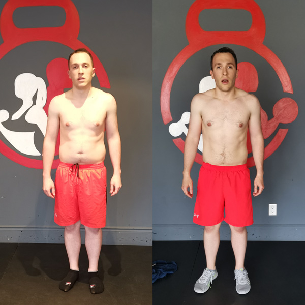 Overall body fat reduction in man